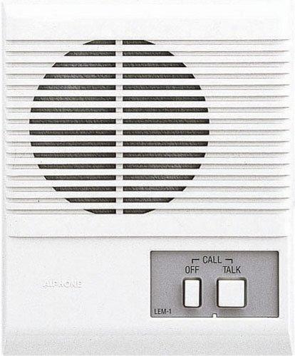 Aiphone lem-1Eckgehäuse Stimme Master Intercom, akzeptiert eine Tür öffnen oder sub-master Gegensprechanlage Aiphone Intercom