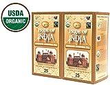 Pride Of India - Organic Energize Ayurveda Tea (Bio- Energize , Ayurveda Tee), 25 Zählerkästen (2-Pack (50 Tea Bags) ) Kaufen Sie 1 - Einladen 1 Free