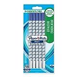 Paper Mate Magic+ Effaceur, Pointe Fine, Bleu, Lot de 8+2