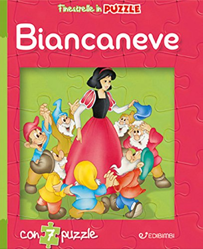 Biancaneve. Finestrelle in puzzle