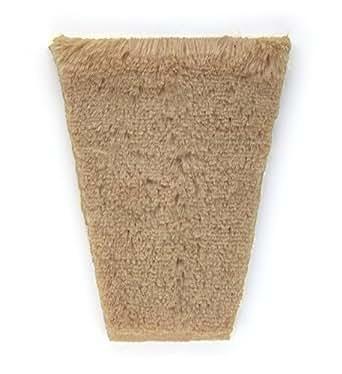 Postiche intime réutilisable, Le tapis assorti aux rideaux, Blond