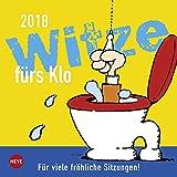 Witze fürs Klo - Wochenkalender 2018 - Heye-Verlag - Aufstellkalender