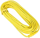 12/3 100ft 125 Volt 15 AMP LIGHTED Extension Cord with Strap EXTRA THICK for Indoor + Outdoor use