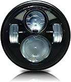 #5: AutoPowerz LED Headlight For Harley Davidson Universal For Bike
