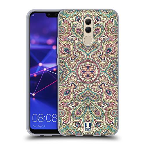 Head Case Designs Blass Komplex Paisley Soft Gel Hülle für Huawei Mate 20 Lite