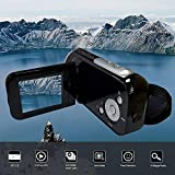XuBa 2 inch TFT Display 16 Million Pixels Video Camcorder HD Handheld Digital Camera 4X Digital Zoom Camera Black