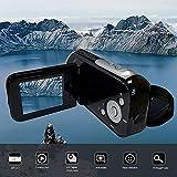XuBa 5,1 cm TFT Display 16 Millionen Pixel Video Camcorder HD Handheld Digitalkamera 4X Digital Zoom Kamera schwarz Schwarz