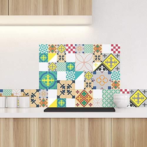 99DECO Crédence Ciment Style Pop