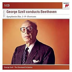 George Szell dirige Beethoven : Symphonies n° 1 à n° 9 - Ouvertures