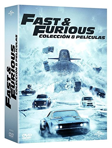 fast and furious dvd box Fast & Furious Pack (FAST & FURIOUS (1-8) - DVD -, Spanien Import, siehe Details für Sprachen)