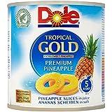 Dole Or Tropical Tranches Prime D'Ananas Au Jus (De 432G)