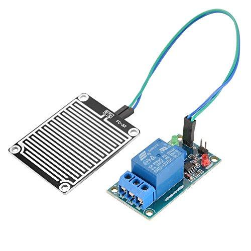 12V Rain Water Raindrop Weather Humidity Sensor Sensitive Relay Control Module Kit for Arduino DIY Dc-power-distribution-modul