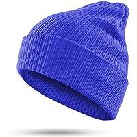 HAOLIEQUAN Mode Winter Hut Frauen Männer Mützen Weiblich Männlich Feste Warme Strick Damen Mützen Hut Elastizität Unisex