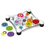 Quercetti Georello Junior - Double Sided Spinning Gear Play Set for Ages 2 and Up (Made in Italy) by Quercetti