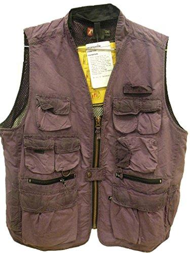 Kakadu Traders Australia - Manteau sans manche - Homme Aubergine