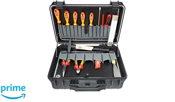 Famex 690-15 Elektriker Werkzeugsatz 14-teilig in Protector Koffer ...