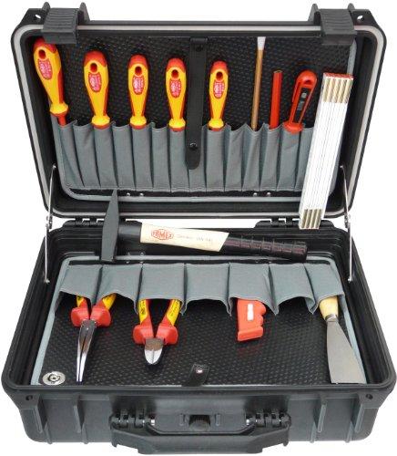 Famex 690-15 Elektriker Werkzeugsatz 14-teilig in Protector Koffer
