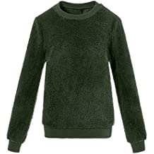 Suéter de Invierno Mujer de Felpa, Suéter Ropa Interior térmica de imitación Piel
