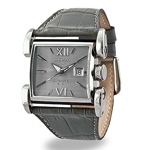 Locman Italy Mujer Reloj Latin Lover automático Titanium/acero inoxidable gris Ref. 0505