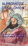 la promesse de salomon le secret des cent porteshaya evelyne berkowitz une litt?rature juive contemporaine pour les juniors de 8 ? 12 ans