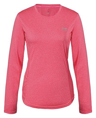 li-ning-t-shirt-susan-xxl-rose-bonbon