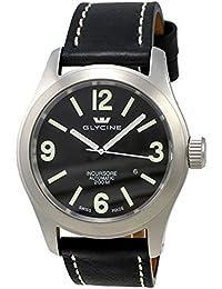 Glycine Incursore Automatic Stainless Steel Mens Strap Swiss Watch Calendar 3874.19 LB9B