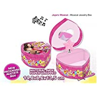 Soy Luna - Soy Joyero musical con caja en forma de corazón (Kids Euroswan KD-WD18018), Unica (Kids Euroswan WD18018)