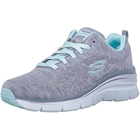 Skechers (SKEES) Fashion Fit-Style Chic, Zapatillas de Deporte Para Mujer