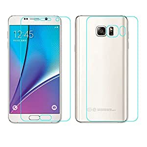 Celltone (TM) Samsung Galaxy Note 5 ( Front and Back Side ) Ultra Clear Film TPU Screen Protector HD, It covered in full display area of mobile [NOTE:- It's not a Tempered Glass]
