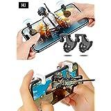 HKI PUBG Gaming Joystick For Mobile   PUBG Triggers For Mobile Controller   Mobile Gaming Trigger Controllers For Fortnite, PUBG And Other Mobile Games For All Mobile