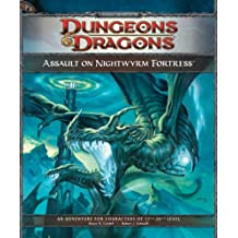 Assault on Nightwyrm Fortress: Adventure P3 for 4th Edition D&D