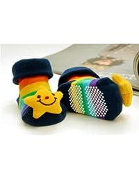 HuntGold chaussure bébé mignon unisexe en coton design de animation 3D(chiot)