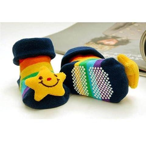 DDU Unisexe 3D animal style chaussettes des bébé conception de chaussures bottes Star