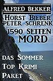 1590 Seiten Mord - Das Sommer Top Krimi Paket (Alfredbooks Krimi Sammelband) (German Edition)