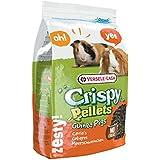 Versele Laga Meerschweinchenfutter Crispy Pellets 2 kg, 2er Pack (2 x 2 kg)