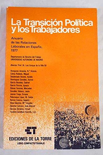 Anuario de las relaciones laborales en España, 1977