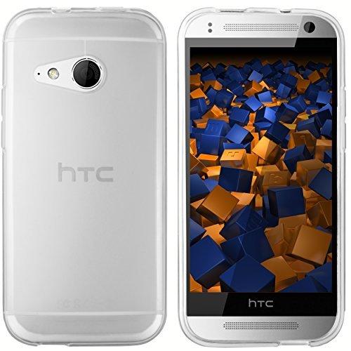 mumbi Schutzhülle HTC One Mini 2 Hülle transparent weiss (Htc One Mini 2 Case)