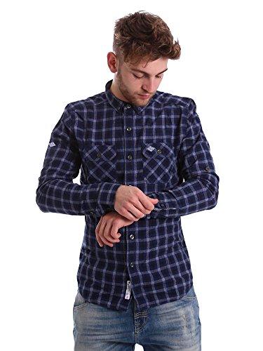 Superdry Grindlesawn L/s T-shirt XL Steel G