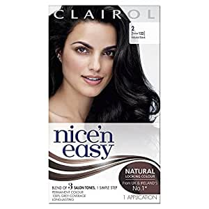 Nice'n Easy Permanent Hair Colour - Natural Black (No. 122)