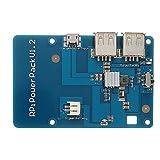 MYAMIA Power Pack V 1.2 Scheda Di Espansione Di Batteria Di Litio Con Hub Usb Per Raspberry Pi/Ricarica Cellulare