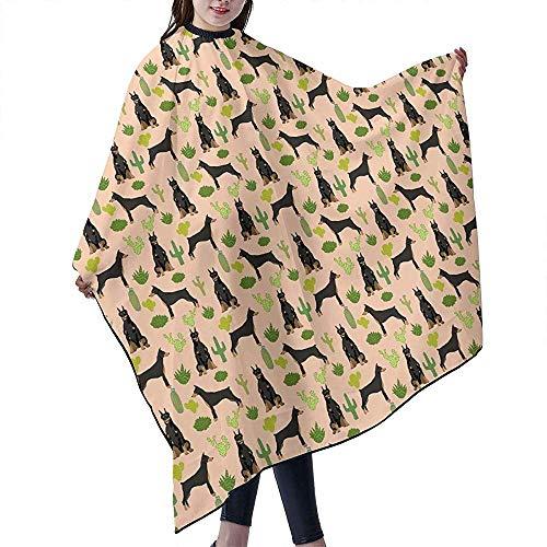 Miniatur Dobermann Pinscher Kaktus Cape Cover Mantel Friseur Haarschnitt Schürze Haar Bademantel Cape