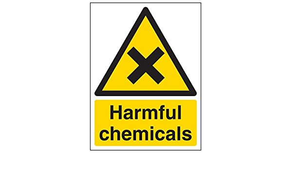 Warning Sign 300 x 200mm Safety Signs DANGER Chemicals