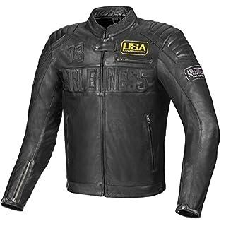 Arlen Ness Aggro Motorradlederjacke 50