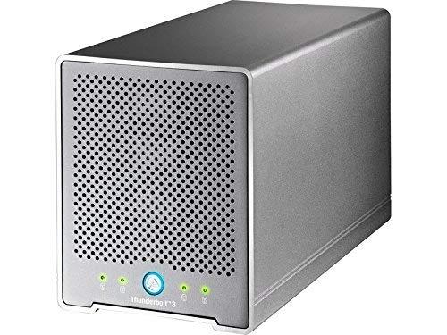 'Akitio Box Außen Thunder3Quad Mini 4Bay 2.5SATA mit Schnittstelle Thunderbolt 3/USB 3.1/DP