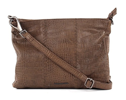 FREDsBRUDER Soft Croco Crossbody Croco Crush Stone -