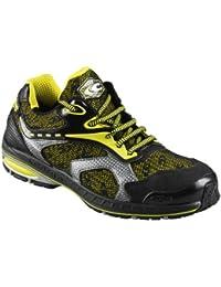Cofra zapatos de seguridad Palmares S1P 19090000nueva Jogging altamente transpirable amarillo