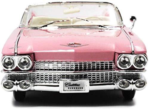 Llpeng Modelo de Juguete Coche Modelo de Coche Cadillac 01:18 62 Simulación de aleación de fundición a presión de joyería Juguete 32x12x8CM joyería Colección del Coche Deportivo