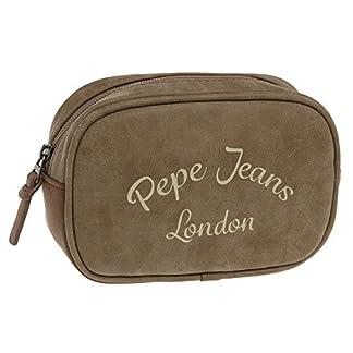 Pepe Jeans Original Neceser de Viaje, 1.12 Litros, Color Marrón