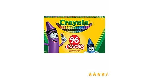 crayola 96 crayons crayola canada 52 0096