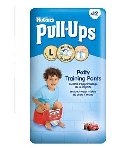 Huggies Pull-UpsDisney-Pixar Cars Dimensioni Bambino Di 6 Vasino Formazione Pantaloni - 1 X 12 Pantaloni